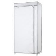 Textilní šatní skříň Compactor My Home - bílá, kovový rám, 75 x 50 x 150 cm