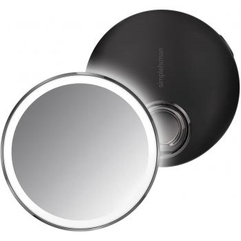 Kapesní kosmetické zrcátko Simplehuman Sensor Compact, LED světlo, 3x zvětšení, černé