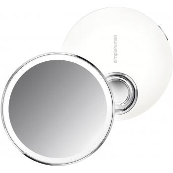 Kapesní kosmetické zrcátko Simplehuman Sensor Compact, LED světlo, 3x zvětšení, bílé