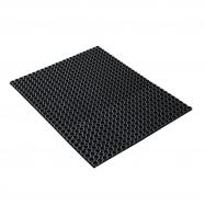 Vstupní rohož, 1500x1000 mm, černá