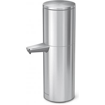Bezdotykový dávkovač desinfekce a mýdla Simplehuman - 946 ml, nerez ocel (vhodný na stěnu)