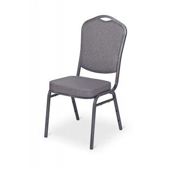 Banketová ocelová židle  ALICANTE ORIGINALS ST570, grafitová
