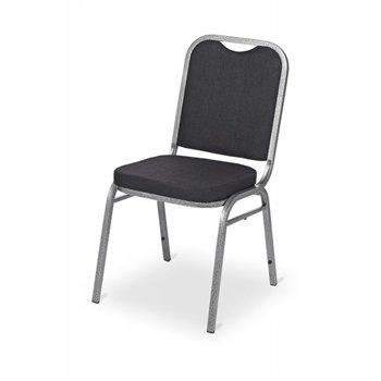 Banketová ocelová židle ECONOMIC PARTY, černá