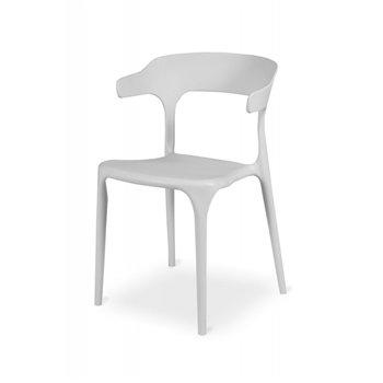 Plastová židle SIESTA, bílá