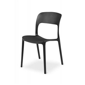 Plastová židle HAVANA, černá