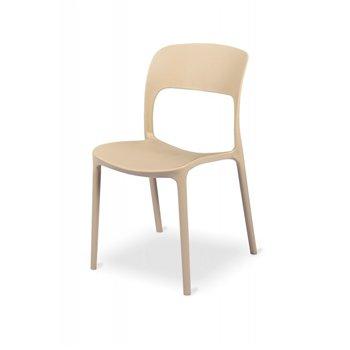Plastová židle HAVANA, béžová