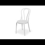 Plastová židle BISTRO MONET, bílá