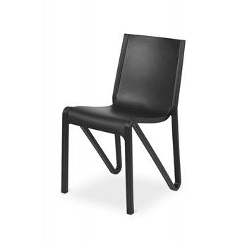 Plastová konferenční židle BOOM, černá