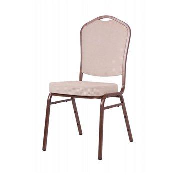 Banketová židle ALICANTE ORIGINALS STF950, běžová / hnědá