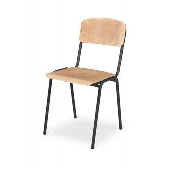 Konferenční / školní židle PRYMUS, buk / černá