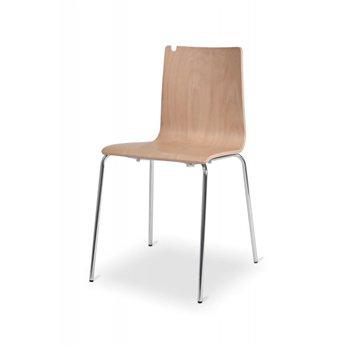 Konferenční židle LUNGO, buk / chrom