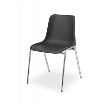 Konferenční židle MAXI CR, černá / chrom