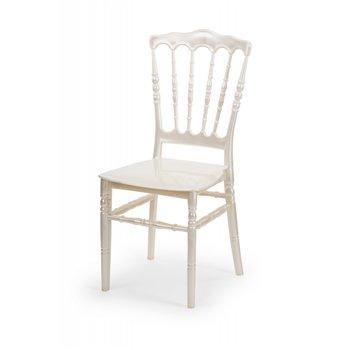 Plastová svatební židle NAPOLEON, champagne