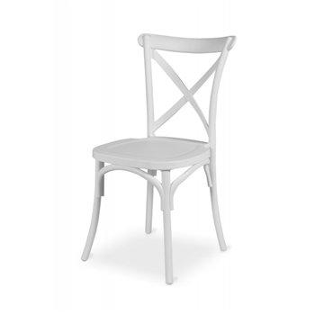 Plastová svatební židle FIORINI, bílá
