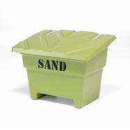 Nádoba na posypový materiál, 350 l, zelená