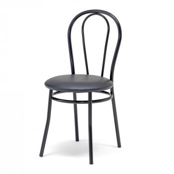 Kavárenská židle Aurora, černá