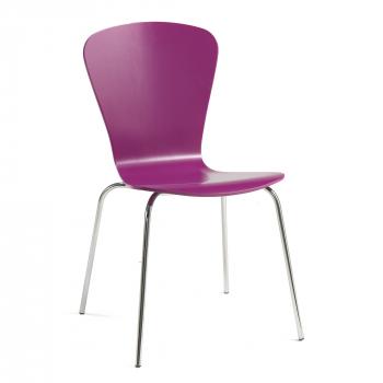 Jídelní židle Milla, purpurová