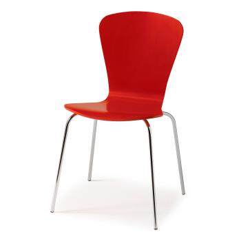 Jídelní židle Milla, červená