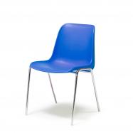 Plastová židle Sierra, modrá