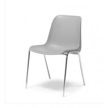 Plastová židle Sierra, šedá