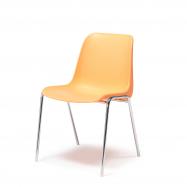 Plastová židle Sierra, oranžová