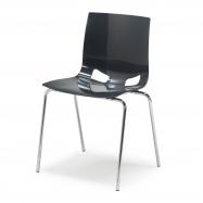 Jídelní židle Juno, antracitová