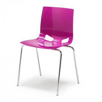 Jídelní židle Juno, purpurová