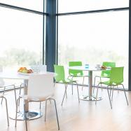 Jídelní židle Juno, zelená