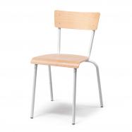 Jídelní židle Portland, buk, hliníkově šedá