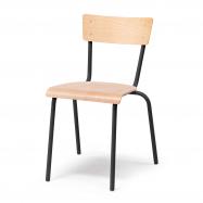 Jídelní židle Portland, buk, černá