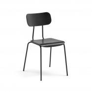 Jídelní židle Reno, černý jasan