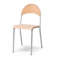 Jídelní židle Tampa, buk, hliníkově šedá