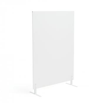 Paraván Ease, vč. nohou, 1480x1000 mm, bílá