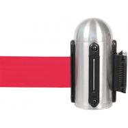 Hlavice natahovacího bariérového systému na stěnu - červená