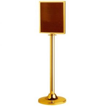 Stojanová tabule LG-P2-TG, lanový úchyt, provedení zlaté
