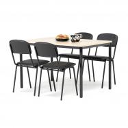 Jídelní sestava: stůl 1200x800 mm