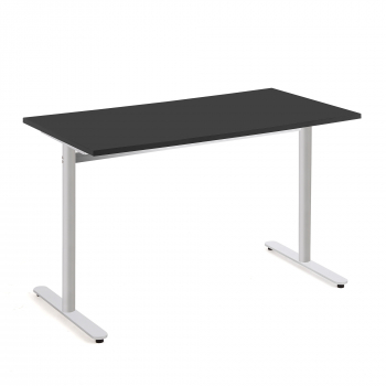 Stůl Tilo, 1200x800x720 mm, stříbrná, černá