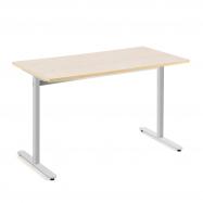 Stůl Tilo, 1200x800x720 mm, stříbrná, bříza