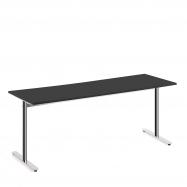 Stůl Tilo, 1800x800x720 mm, chrom, černá