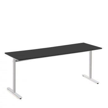 Stůl Tilo, 1800x800x720 mm, stříbrná, černá