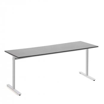 Stůl Tilo, 1800x800x720 mm, stříbrná, tmavě šedá
