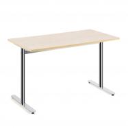 Stůl Tilo, 1200x800x720 mm, chrom, bříza