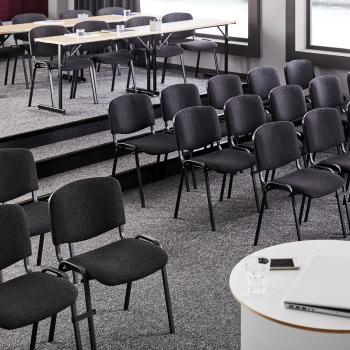 Skládací stůl Claire, 1200x500 mm, bříza, černá