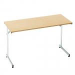 Konferenční stůl se sklápěcím rámem a laminovanou stolovou deskou.   Skládací rám Laminovaná deska Výběr ze 3 barevných provedení