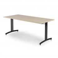 Jídelní stůl Sanna, 1800x700 mm, bříza, černá