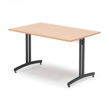 Jídelní stůl Sanna, 1200x800 mm, buk, černá