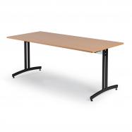 Jídelní stůl Sanna, 1800x700 mm, buk, černá