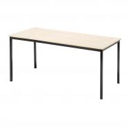 Jídelní stůl Jamie, 1800x800 mm, bříza, černá