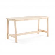 Jídelní stůl Stabilis, 1800x740 mm, výška 900 mm, masiv, bříza