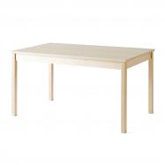 Jídelní stůl Europa, 1400x800x720 mm, HPL, bříza